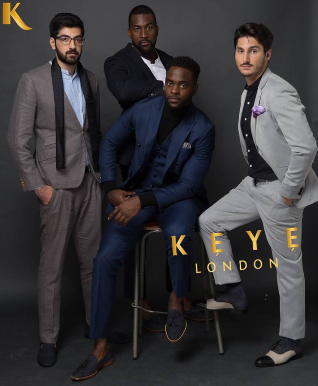 Men's suits by Keye London Bespoke