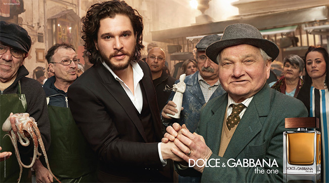 Kit Harington as the ambassador for The One for Men