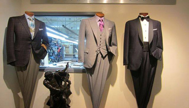 New York based bespoke suits by Kozinn Tailors