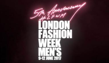 Tracey Emin CBE RA Designs LFWM Fifth Anniversary Logo