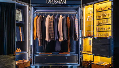 Larusmiani Tessuti Fall/Winter 2018-2019 fabrics collection