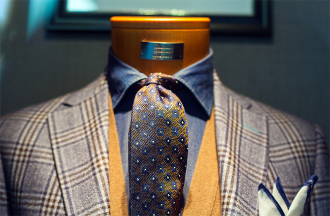 Lexus presented their guide how to buy a bespoke suit