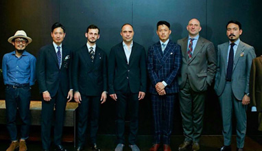 Florence based tailored suits by Liverano & Liverano