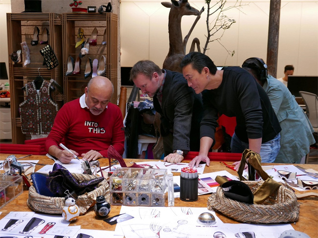 Christian Louboutin Unveils One-of-a-Kind Collaboration with Disney Studios and Lucasfilm for Star Wars: The Last Jedi
