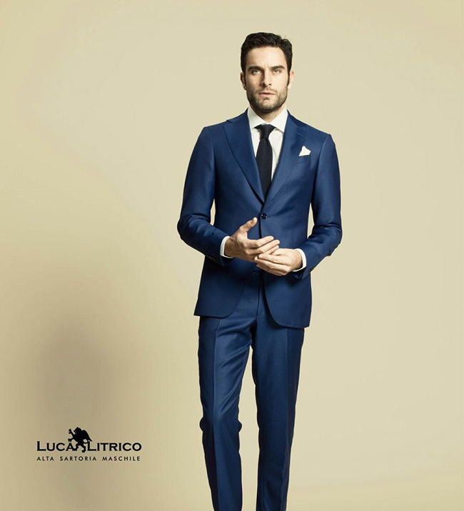 Haute couture suits by Luca Litrico