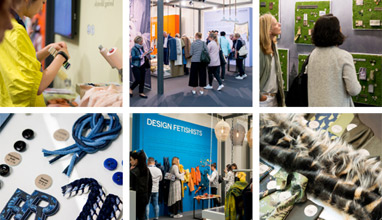 Fashion trends Autumn/Winter 2018/2019 at MUNICH FABRIC START - an Interplay of Creativity, Technology and Digitalisation