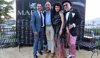Mabro made a glamorous return at Pitti Uomo