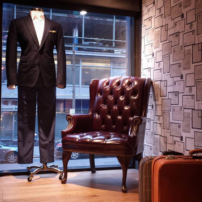 Popular custom tailors in Massachusetts