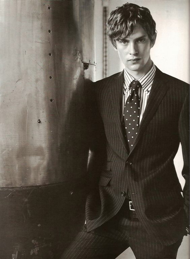 Mathias Lauridsen - the most famous Danish model