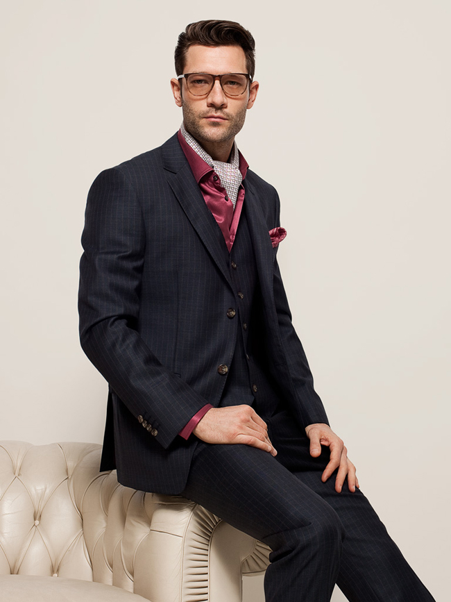Italian tailor made suits by Messori