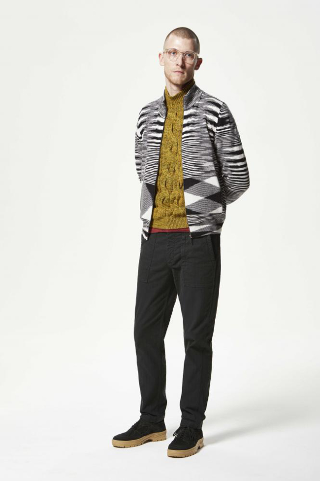 Missoni Fall 2017 - express your style with a cardigan