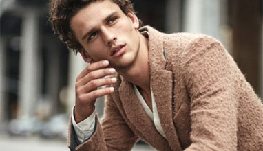 Simon Nessman - the face of Giorgio Armani