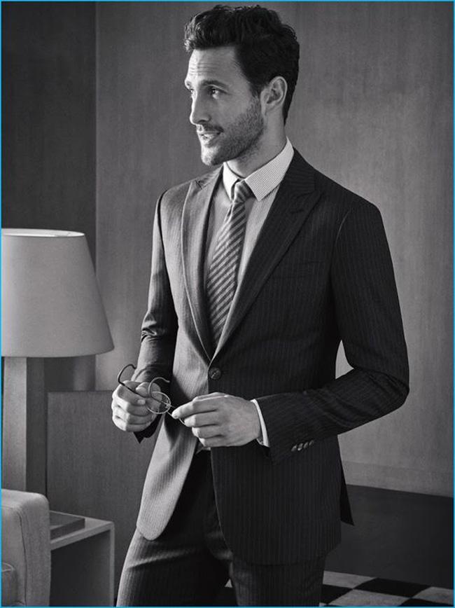 Noah Mills - Canadian model and actor