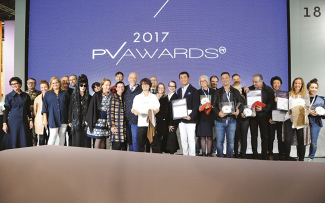 And the 9th Premiere Vision awards prizes for 2017 go to
