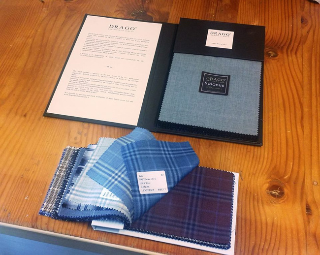 Custom made suits in Prague by Peter Venett