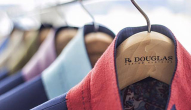American bespoke suits by R Douglas