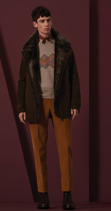 Richard James Autumn/Winter 2017 collection - Camofleur