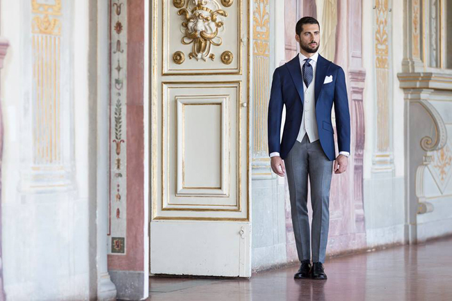 Tailored suits by Sartoria Rossi from Tuscany