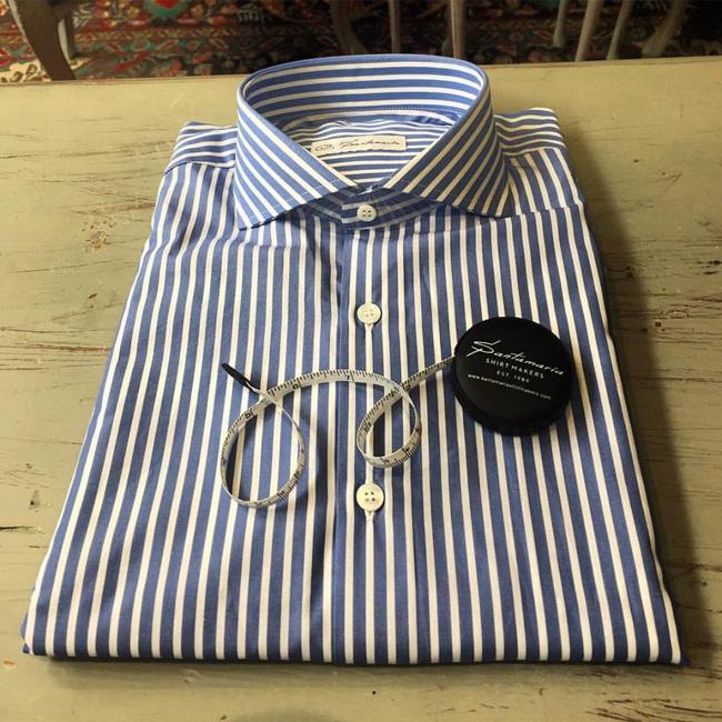 Spanish bespoke shirts by Santamaria Shirt Makers