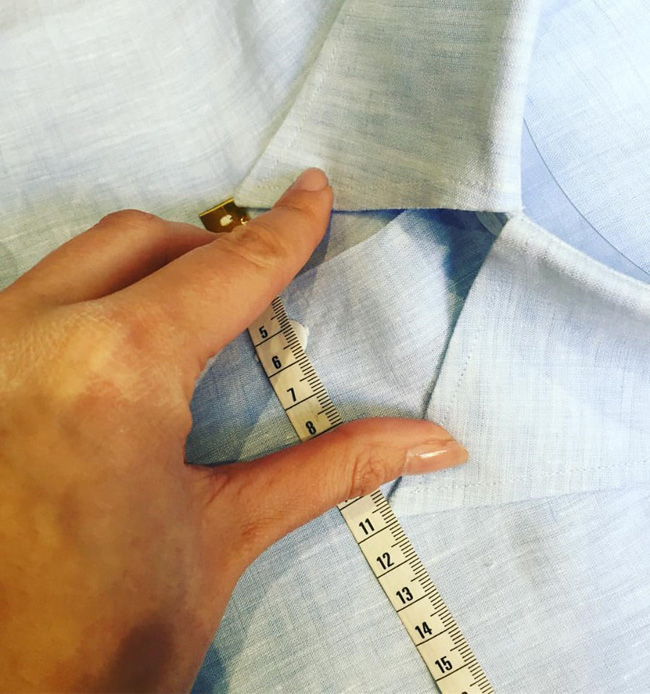 Spanish bespoke shirts by Santamaria Shirt Makers