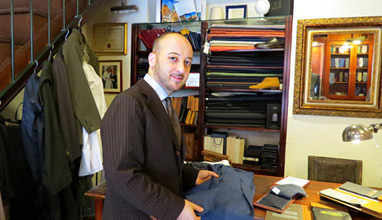 Meet Marco Gallo - Chief Tailor of Sartoria Gallo Rome which invented the lightest men's jacket