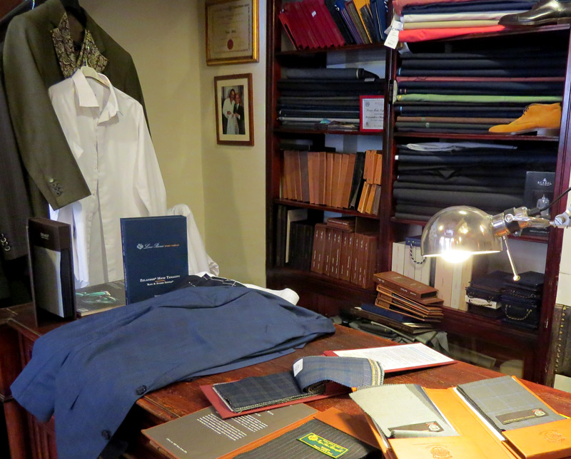Sartoria Gallo is a tailor shop in Rome