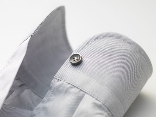 Create a bespoke shirt to complement your tailored suit - ask the Scabal's tailors