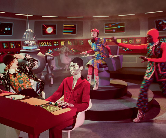 Sci-fi-inspired Autumn/Winter 2017 campaign of GUCCI
