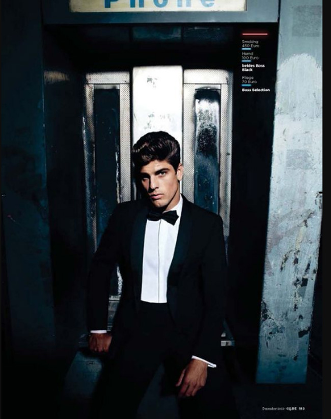 Evandro Soldati - the 7th most successful male model in the world in 2008