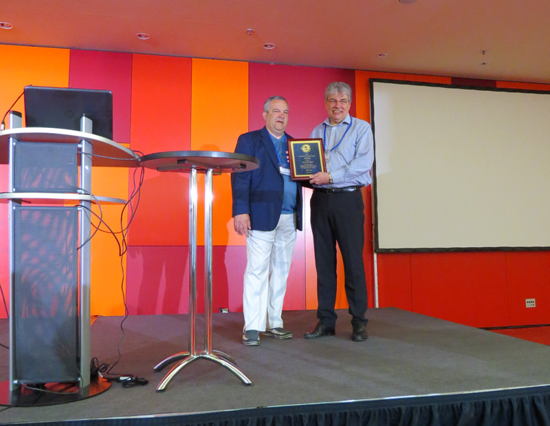 Alex Knight awarded TOCICO Lifetime Achievement Award