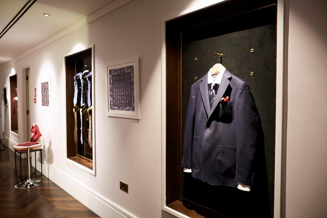 Mayfair Tales - Turnbull and Asser Fall/Winter 2017 collection