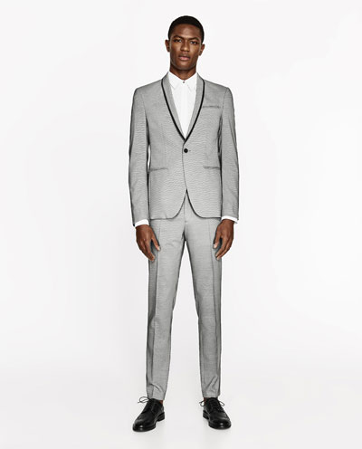 ZARA presented tailored suits Spring/Summer 2017 collection