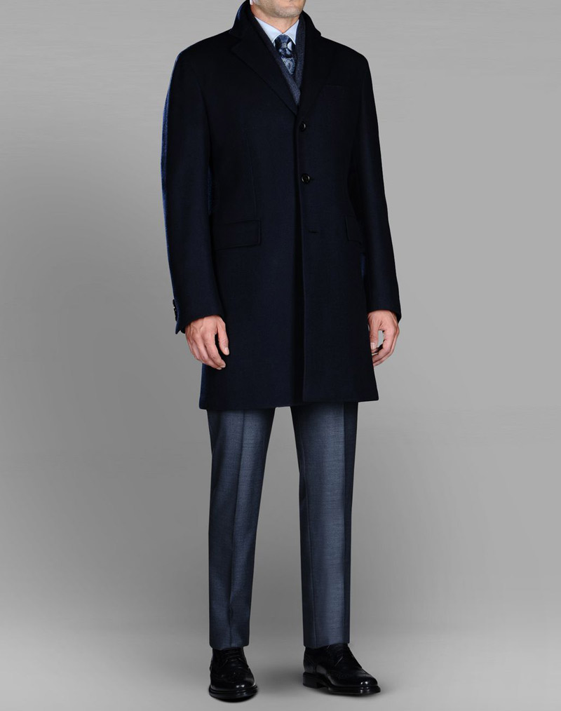 Escorial wool coat
