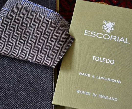 Escorial wool fabric