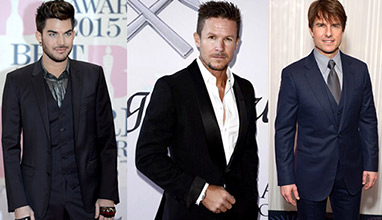 Adam Lambert, Felix Baumgartner and Tom Cruise are Most Stylish Men 2017