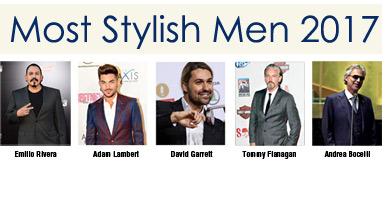 Most Stylish Men April 2017 winners