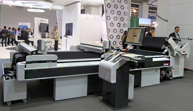 Zünd shows how cutting systems can be integrated seamlessly in digital production workflows