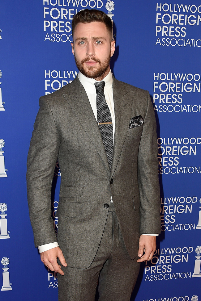 Celebrities' style: Aaron Taylor-Johnson