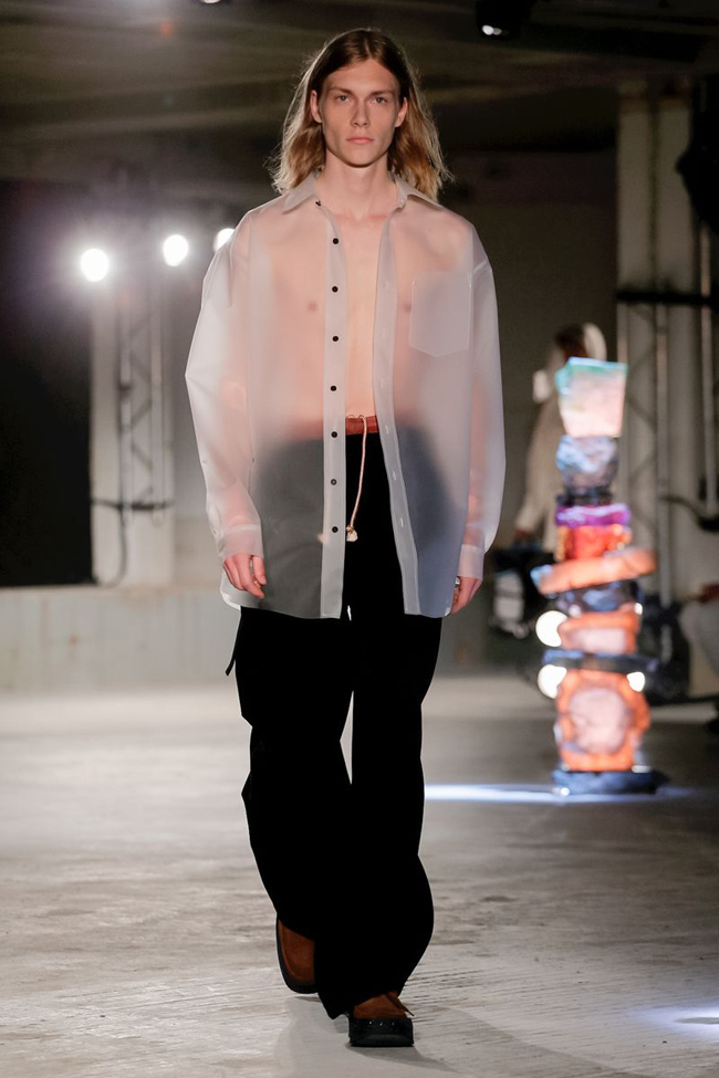 The Awesomeness that is Acne Studio at Paris Men's Fashion Week