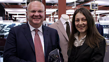 303 TUSCANS awarded Angelico for their sustainable fabrics