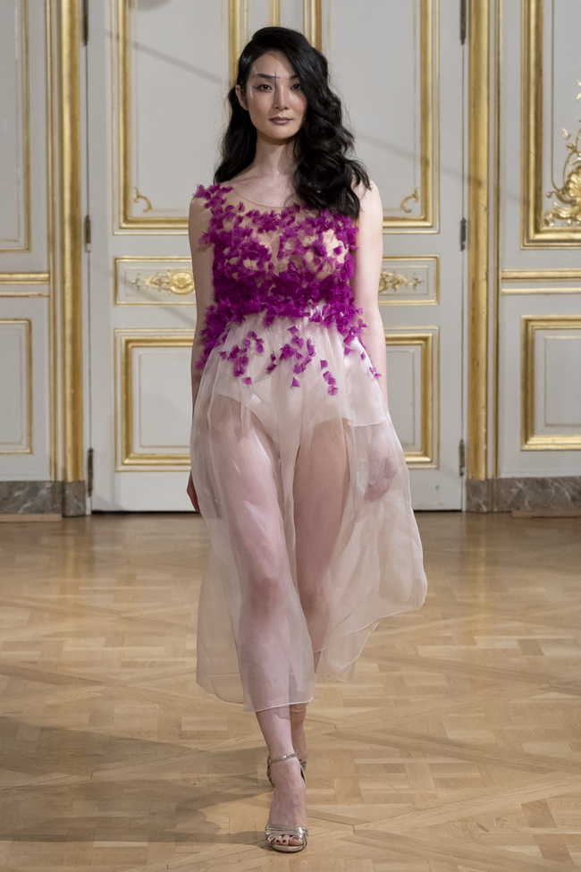 Armine Ohanyan Autumn/Winter 2018-2019 collection during Haute Couture Paris Fashion Week