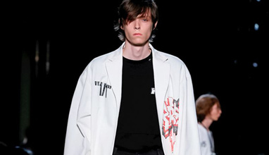 Some Athleisure Fashion by Off-White at Paris Men's Fashion Week
