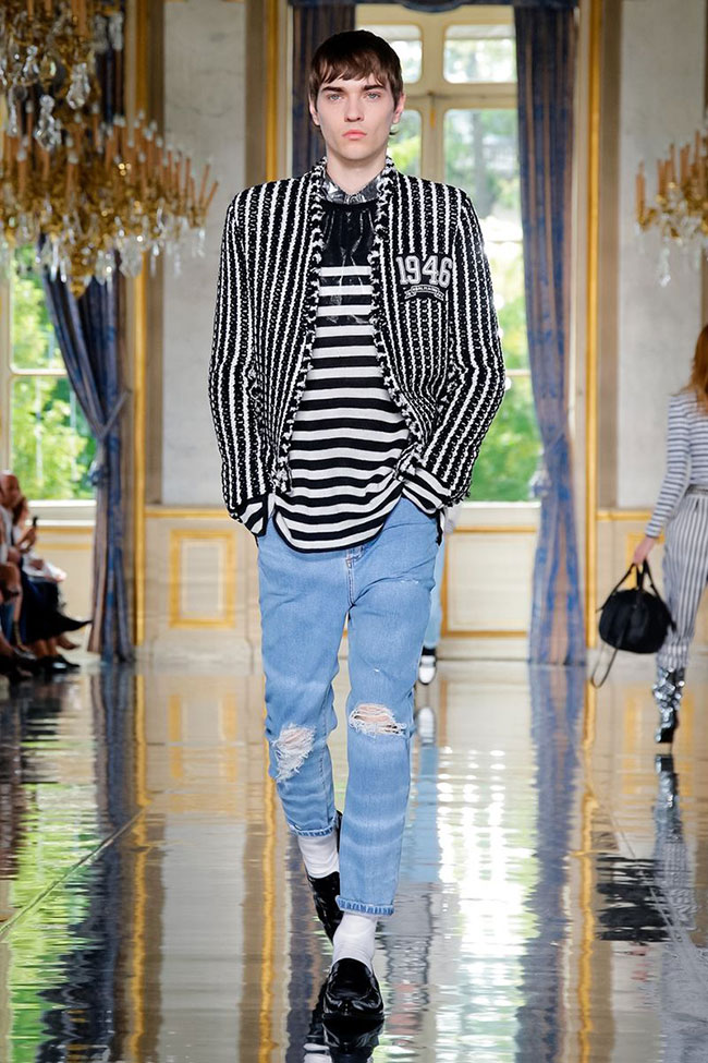 Balmain's Homme Vision of Rock Glam '19 at Paris Men's Fashion Week