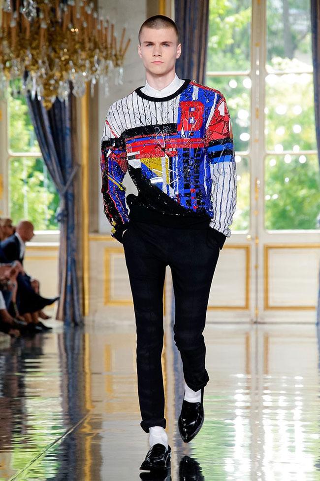 Balmain's Homme Vision of Rock Glam '19 at Paris Men's Fashion Week