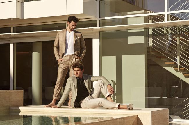 Belvest presented Spring/Summer 2018 collection
