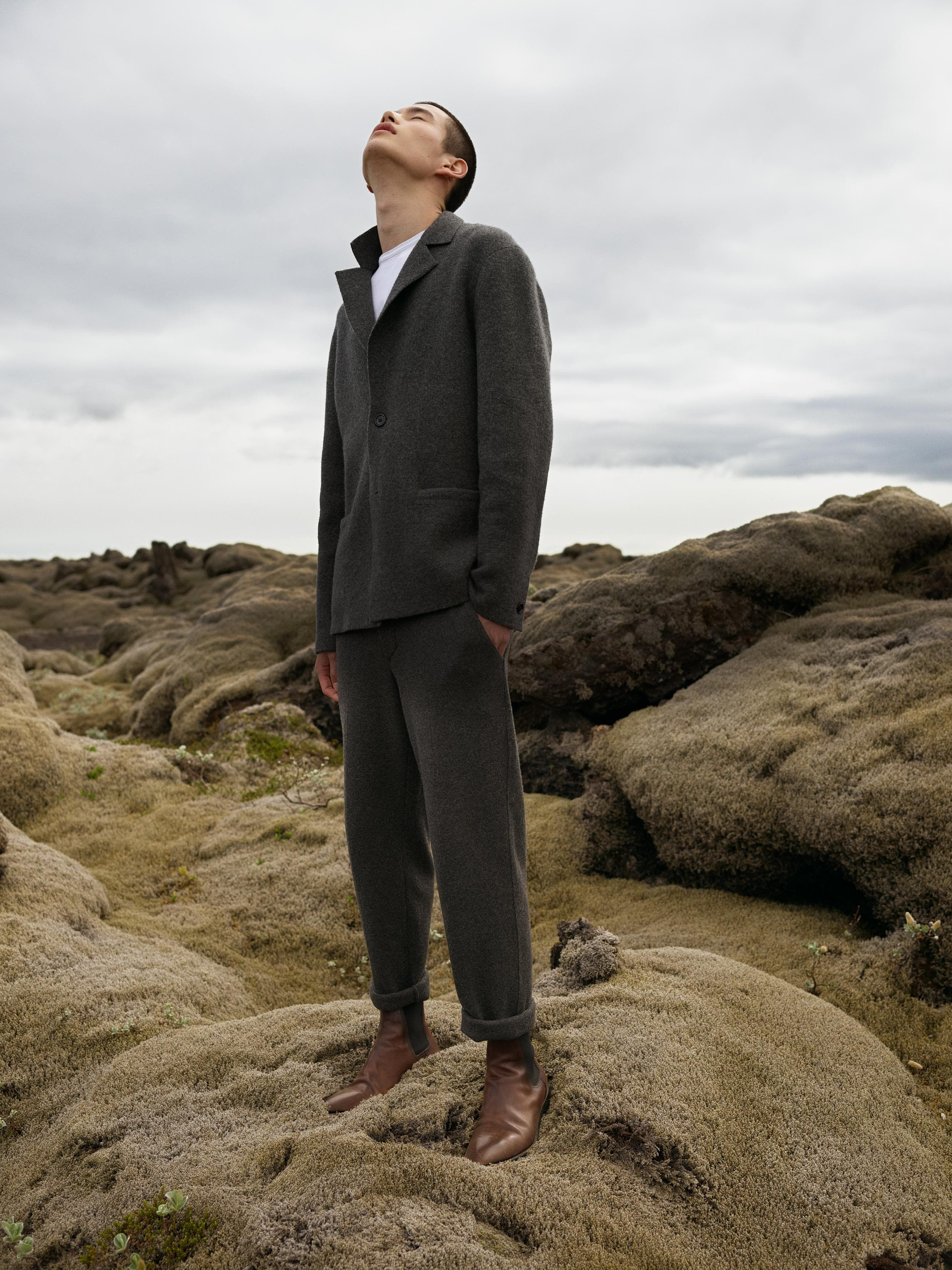 Velvet Desert - Berluti Fall/Winter 2018 collection