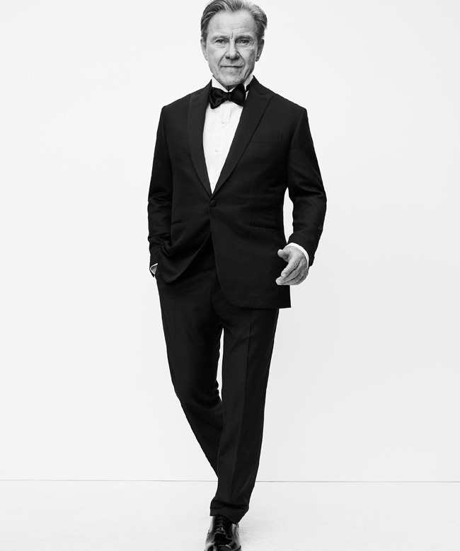 Brioni Spring/Summer 2018 advertising campaign with Harvey Keitel