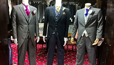 Carl Stuart bespoke tailor - hand-tailored suits