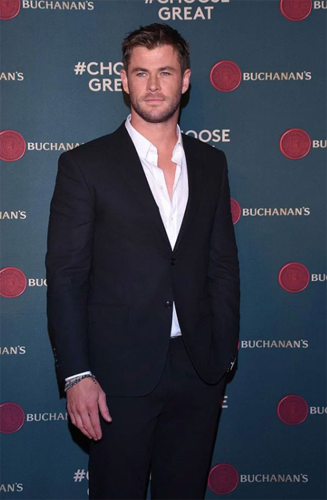 Celebrities' style: Chris Hemsworth