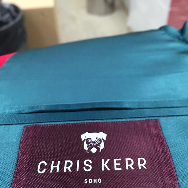 Bespoke suits by Chris Kerr